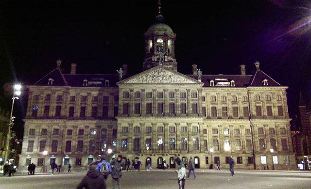 Royal palace - walks of Amsterdam