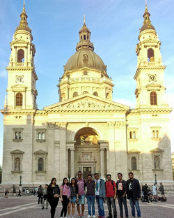 Travelers Joining us from different parts of India on our Budapest - Prague - Berlin - Amsterdam tri