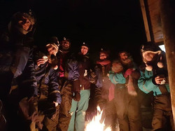 Bonfire night - Northern Lights Chase - An adventure in -26 degree