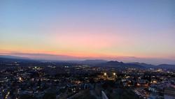 Sunset in Granada , one of the prettiest
