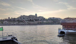 Evenings to Cherish with a view of Buda castle and Danube - #walkingtourbudapest