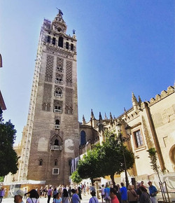 While walking #Seville #Spain #cathedral