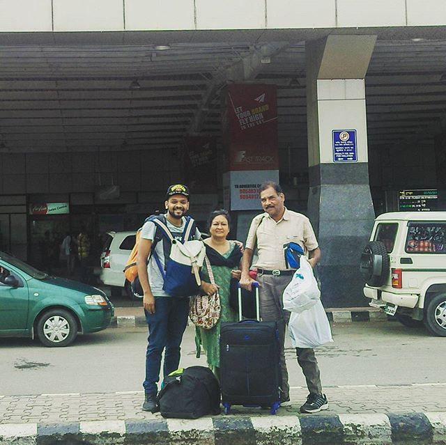 A pleasure travelling with these two people. _Mother & Father - Mrs.Nisha Jain & Mr.Amrish Kumar Jai