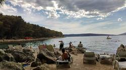 😎🏖👙🎒👓📷📖🎶⛵🍉🍺🍁🚤❤✌ Bene Beach , Split , Croatia__#BackpackEurope #BackapckCroatia #Splitbea