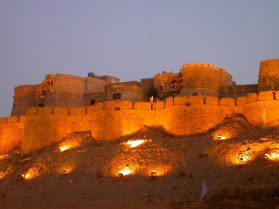 Jaisalmer Fort in Night
