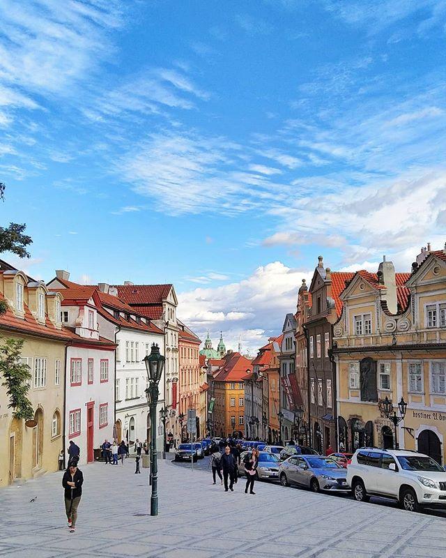 Upper town Prague_Budapest - Prague - Be