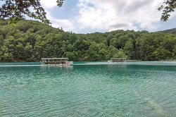 Nature has its own way of surprising you. _A walk in the woods with a view. _Plitvice Lakes National