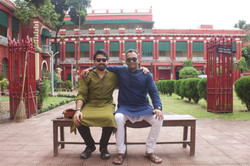 Rohan & Me at Rabindra Nath House