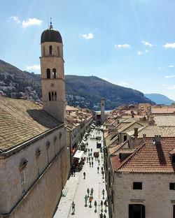 Long walks -- Stradun , Dubrovnik__#BackpackEurope #BackapckCroatia