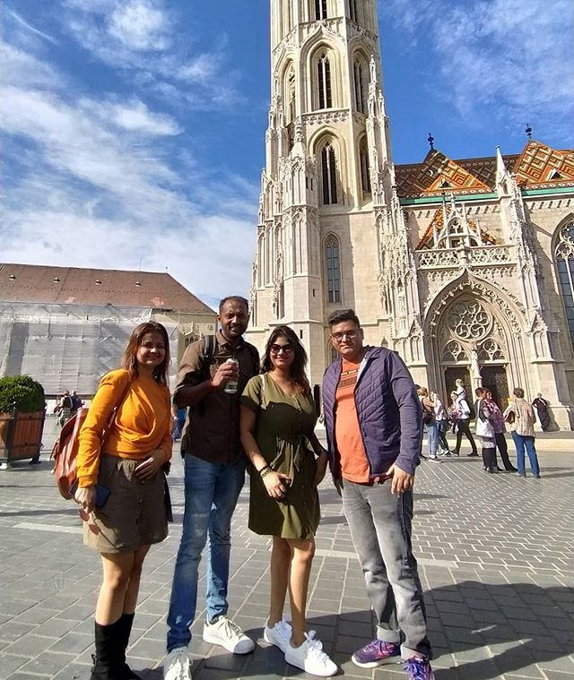 Walking tour Budapest - Location - Matth