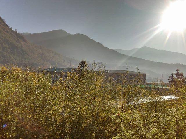 Mornings in Paro valley , Bhutan
