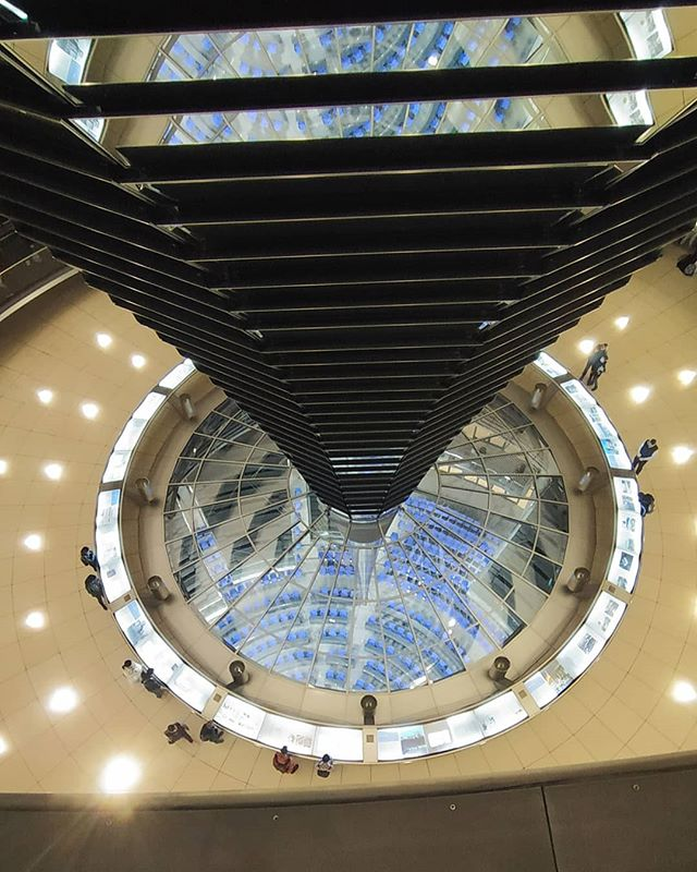 Inside Bundestag - German Parliament , o