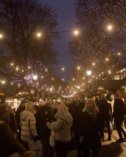 Exploring Christmas Market - Oslo