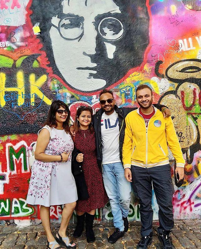 Prague Chapter __John Lennon , always a