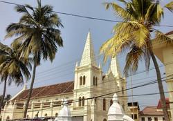 Santa Cruz basilica - Exploring Fort Kochi