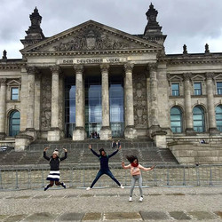 Memories from Berlin . Crazy people tripping in Berlin