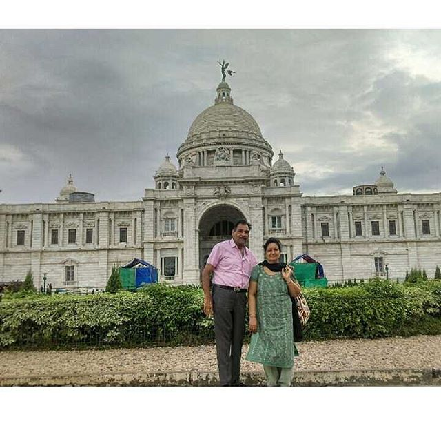 It's always nice to make best memories along the way - Family Travel , Calcutta_Mom & Dad ❤👭📷 Son