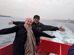 Travel is Happiness - Our travelers duri