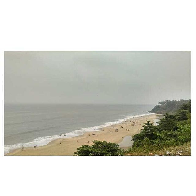 View from Varkala cliff