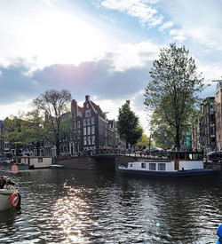 One of the most beautiful canals in Amst