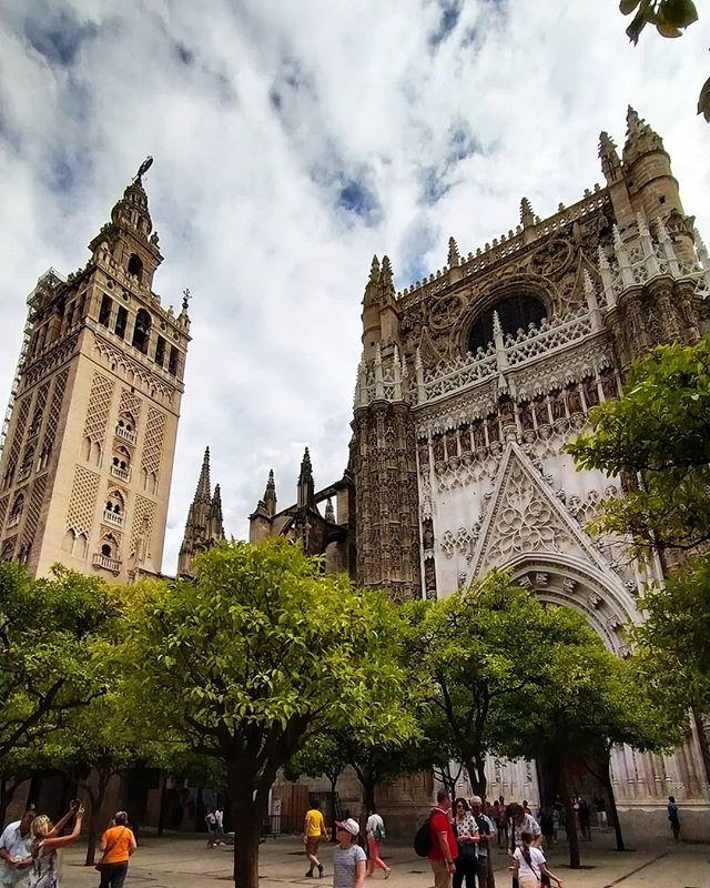 Seville Cathedral - Giralda_._._._