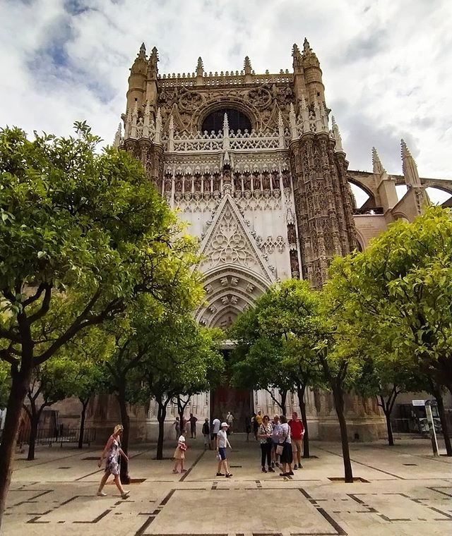 Back in time - Seville Cathedral_._