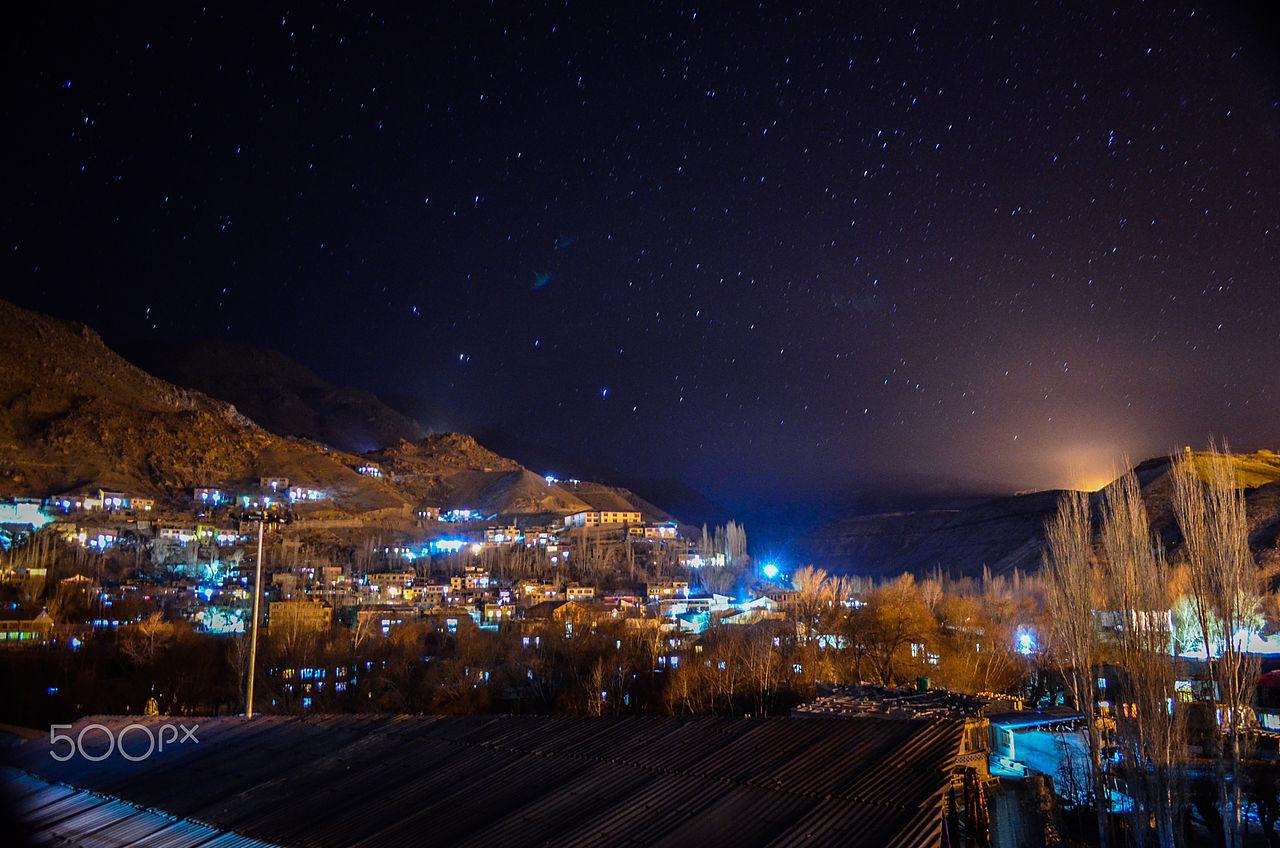 Night at kargil