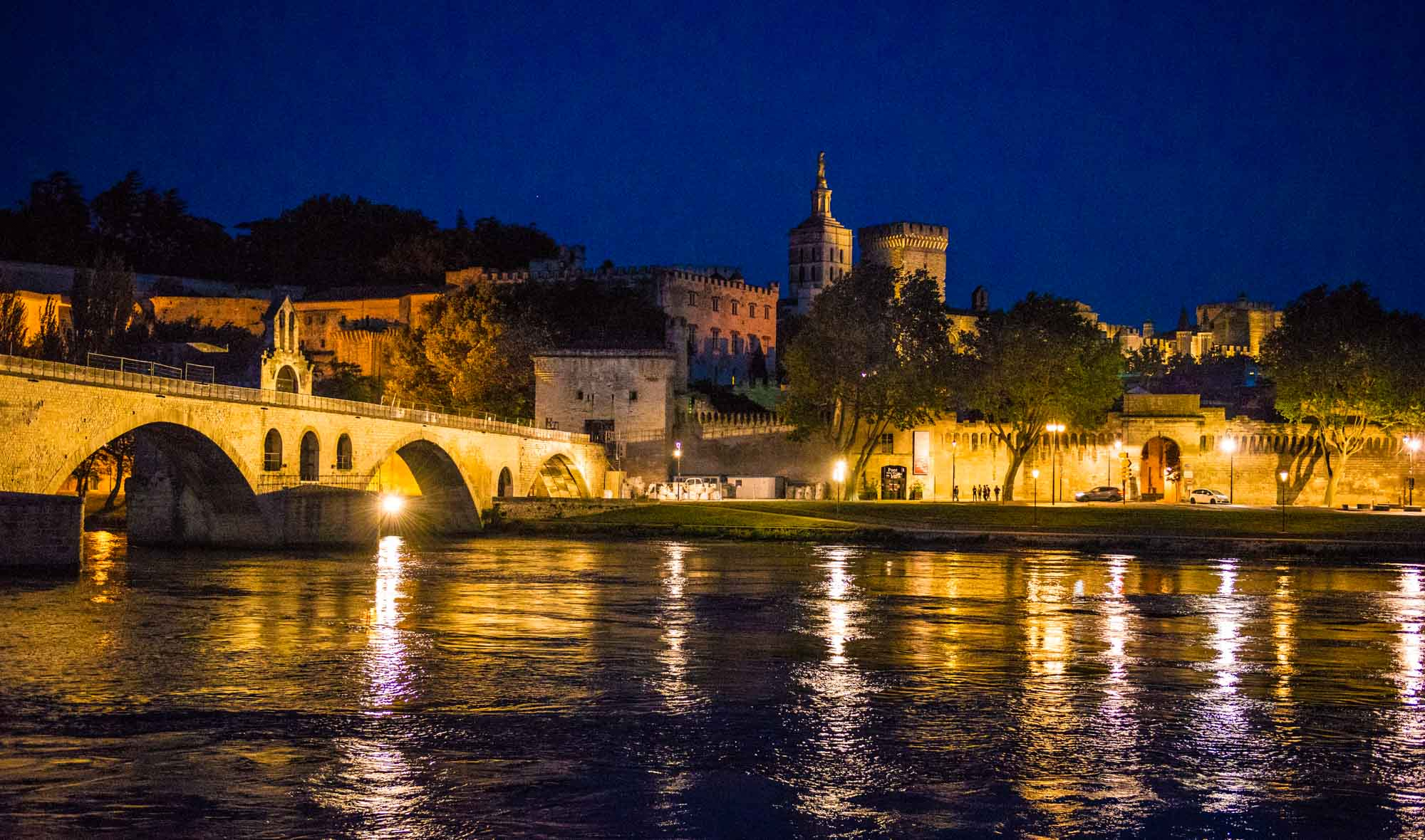 Gorgeous city of Avignon