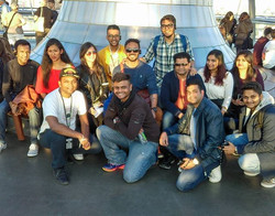 Our group from India - A moment captured during our visit to Reichstag #bundestag #germanparliment