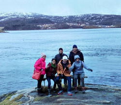 Welcome to Bodø - Its Cold and it's snowing