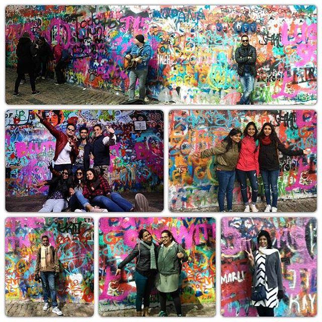 Memories from John Lennon Wall, Prague.