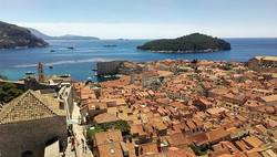 View of the city from Walls of Dubrovnik #BackpackEurope #BackapckCroatia