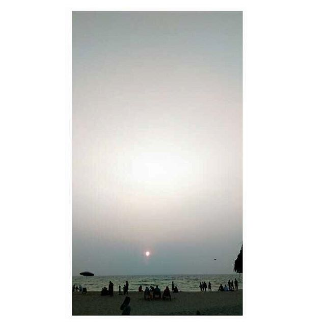 Golden moments - Sunset , Varkala beach