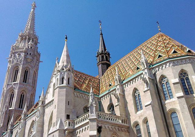 An epic work of architecture - #Matthias_Church