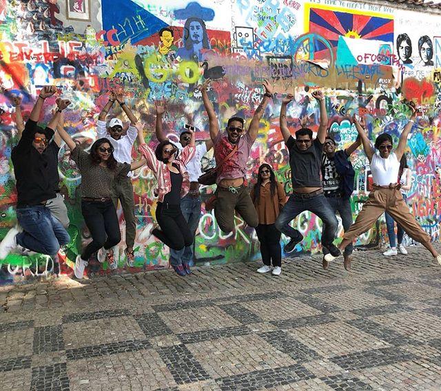 Memories from Praga at John Lennon Wall