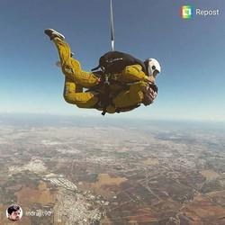 Sky dive scenes - Seville - Indrajit Pal