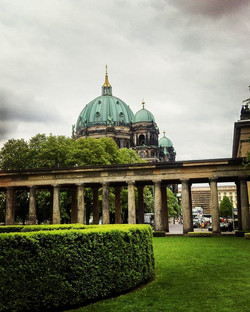 Berliner Dome while walking in middle of history at Museum Island #Berlin