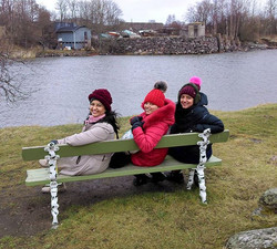 Happy travelers -  While exploring Suomenlinna Island