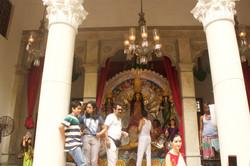In House Durga idol