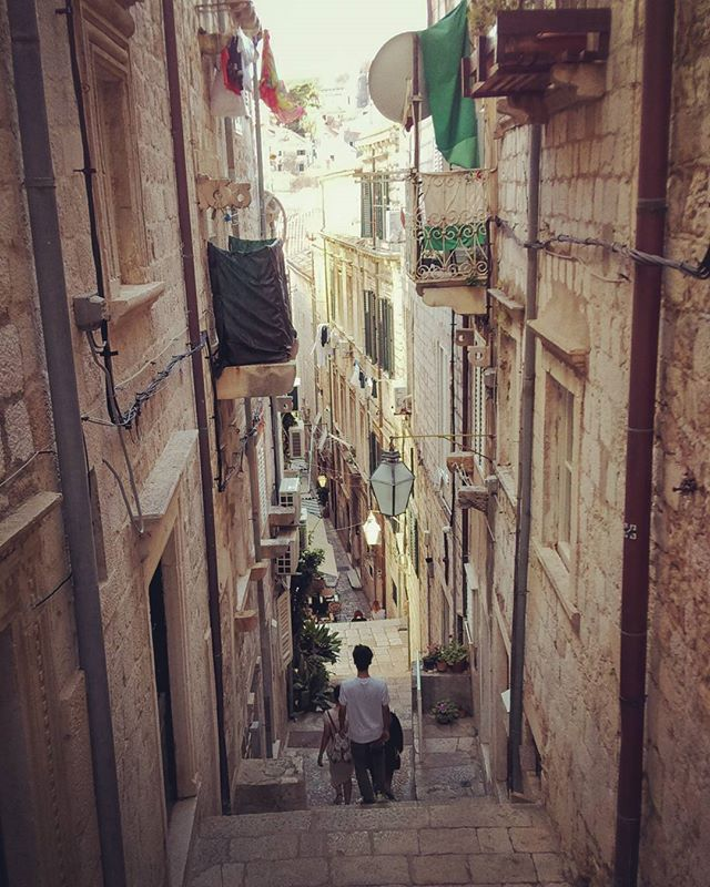 Just 5 mins walk to Stradun from here - the main street of Dubrovnik
