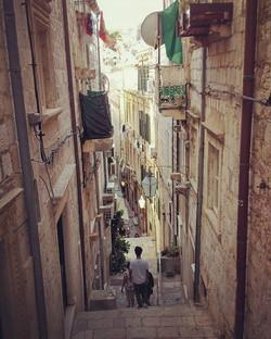 Just 5 mins walk to Stradun from here - the main street of Dubrovnik