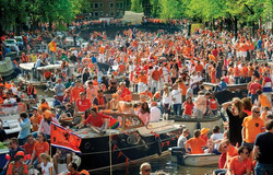 Kings-Day in Amsterdam
