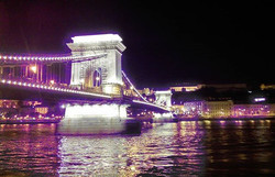 Always a good place for a night drink with a view of Chain Bridge