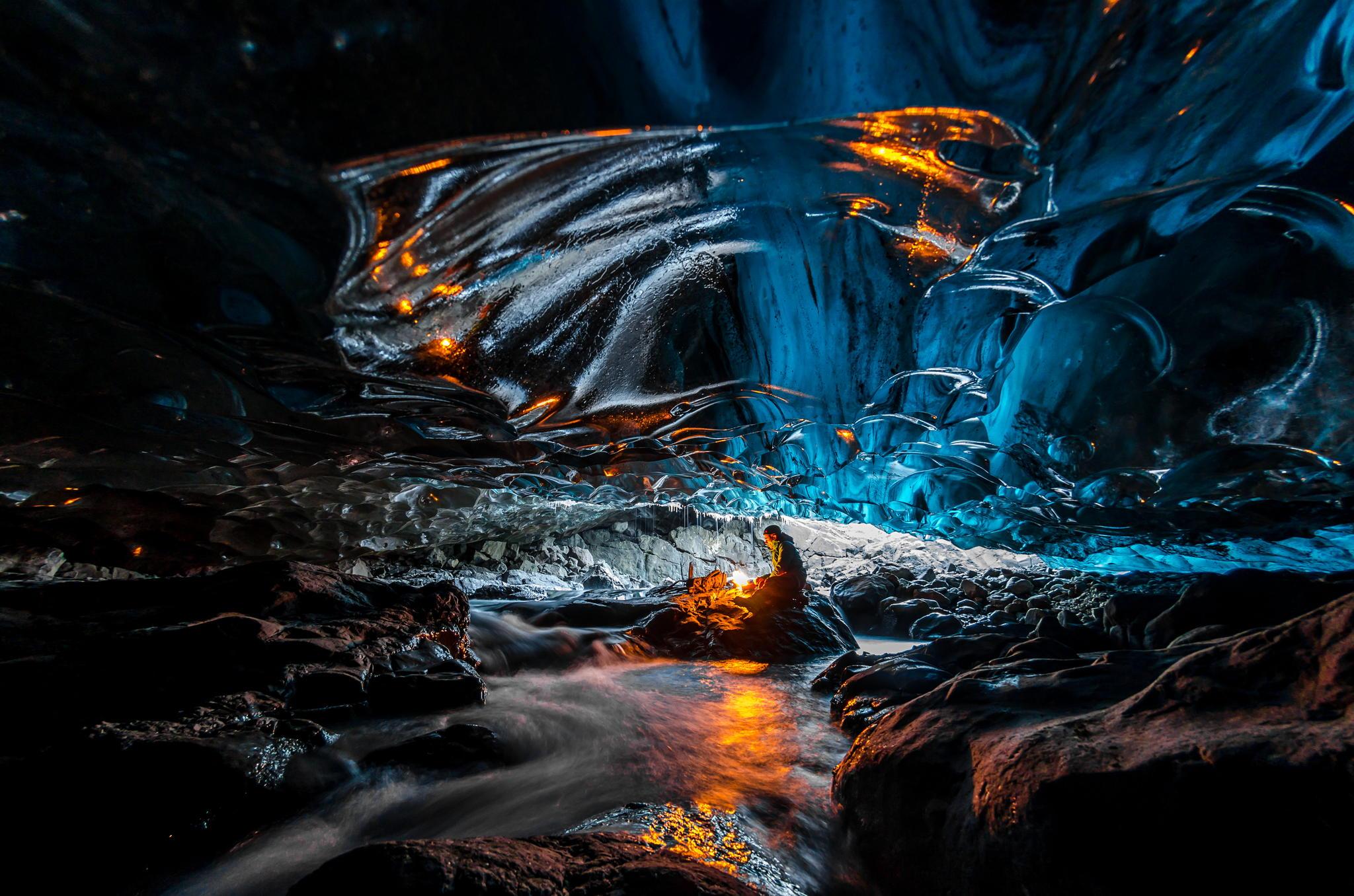 Kverkfjöll.Glacier.Cave.