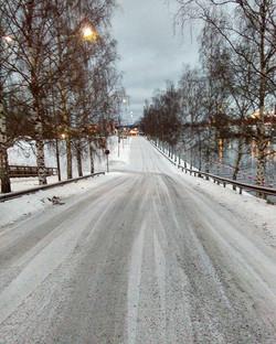 A beautiful road ahead - Rovaniemi calling