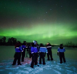 Lost in translation - Northern Lights in Lapland
