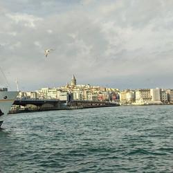 Tea View from Galata bridge._._._