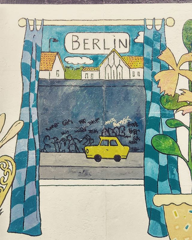 East Side Gallery #BerlinWall