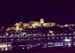 View of Buda Castle from Pest side