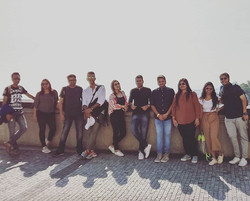 Welcome to Prague - travelers who joined us from India on our Budapest - Prague - Berlin - Amsterdam